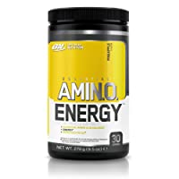 Optimum Nutrition Amino Energy Preworkout Energy Performance Supplement with Beta Alanine, Caffeine, Amino Acids and Vitamin C. Performance Supplement by ON - Pineapple, 30 Servings, 270g