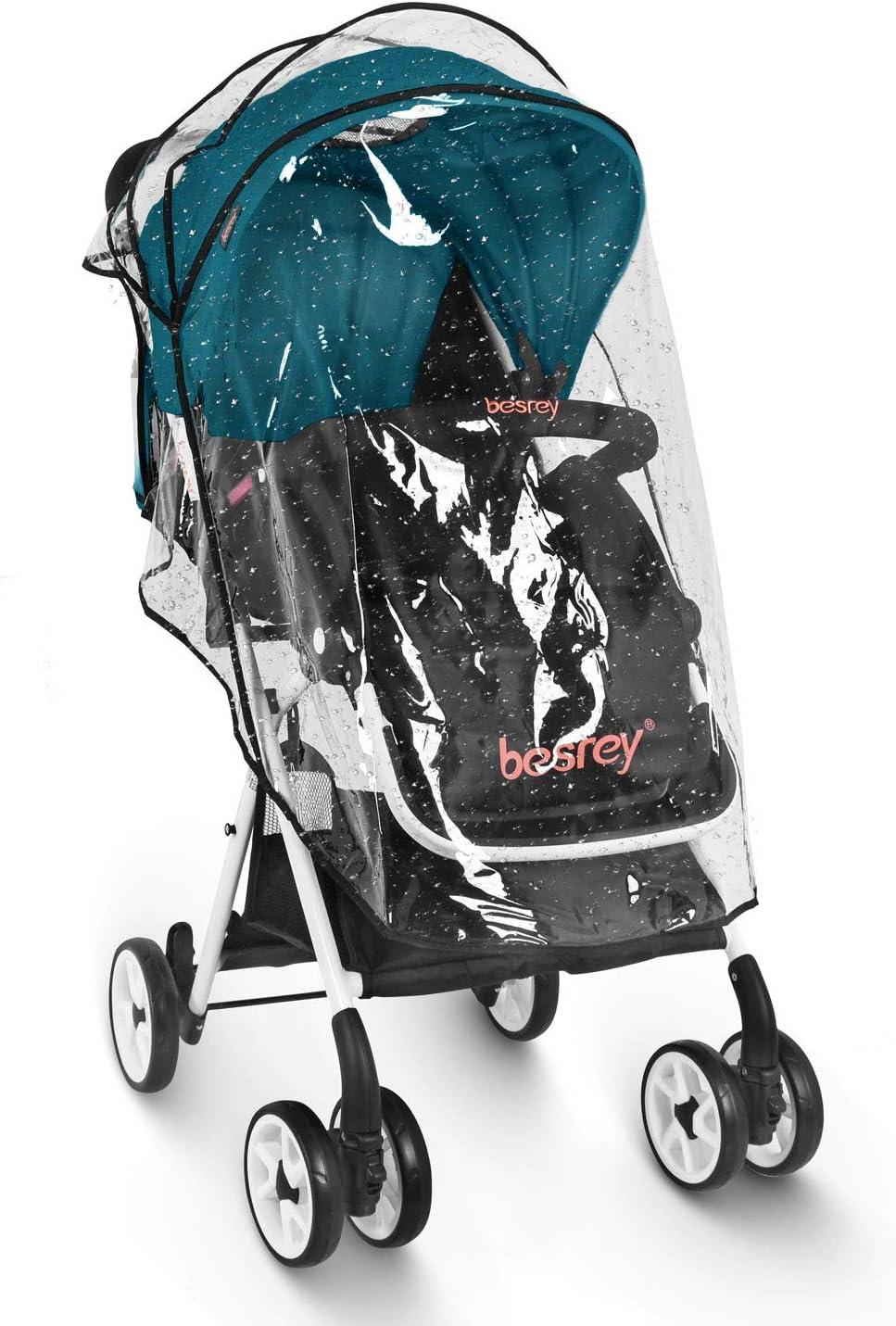 Besrey Cochecito plegable Silla paseo ligera para bebe//ni/ños hasta 3 a/ños Carrito Bebe Compacta ECE Silla de paseo