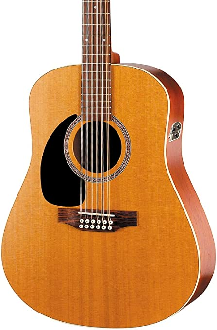 Gaviota Costa S12 cedro izquierda Qi guitarra: Amazon.es ...