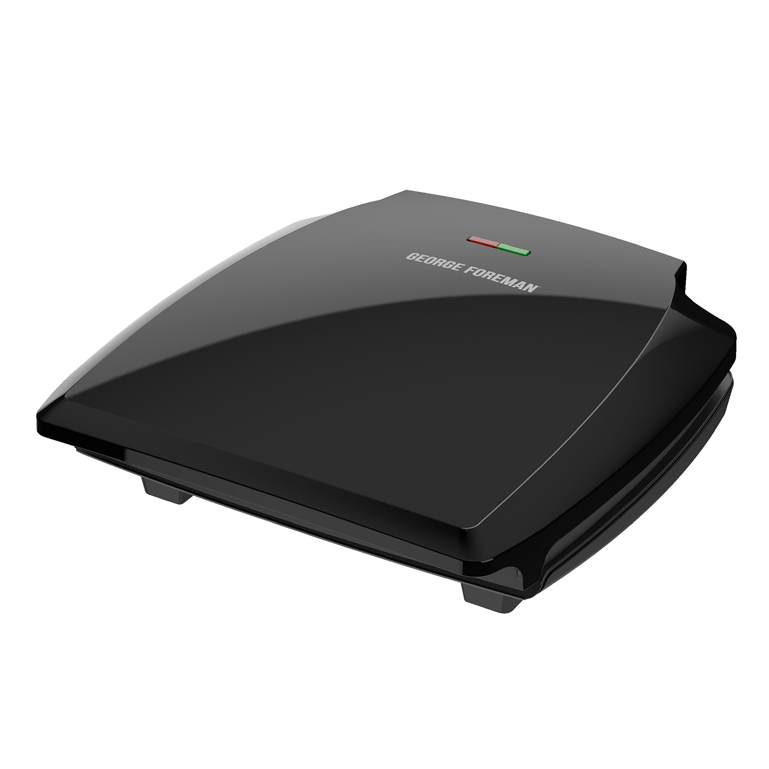 George Foreman 8-Serving Classic Plate Grill and Panini Press, Black, GR380FB