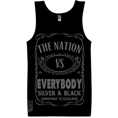 The Nation VS Everybody Black Tank Top JD Edition at Men's Clothing store