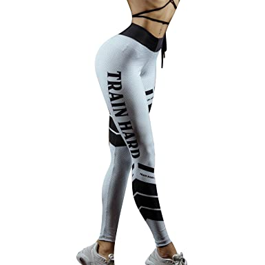 cb088bcdff5c6 Femme Gym Leggings Imprimé Fitness Yoga Sport Pantalon Joggers Tights  Svelte Survêtement Bas Étendue Leggings Bas