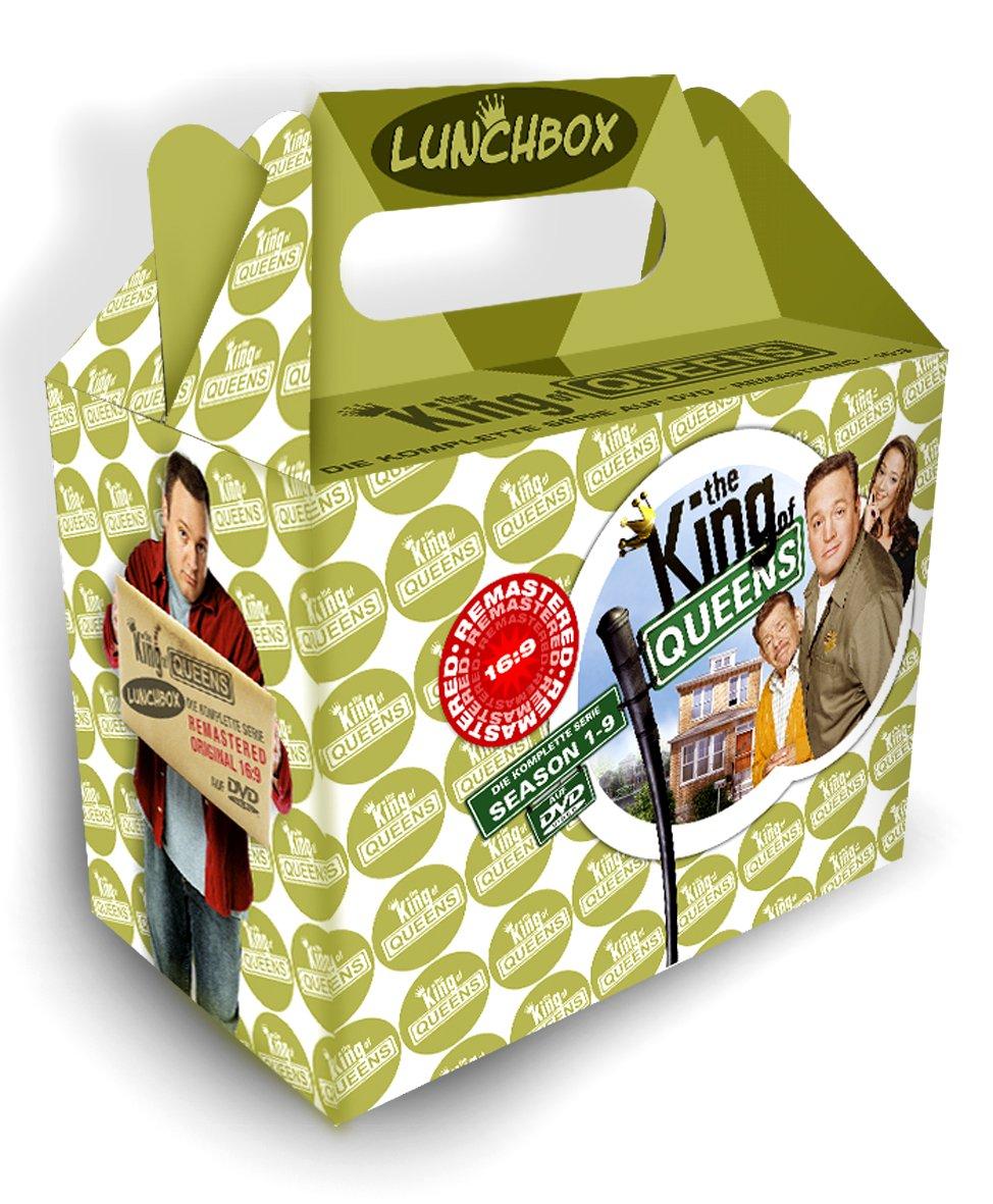 King of Queens - Die komplette Serie in der Lunchbox 36 DVDs: Amazon ...