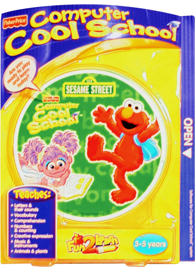 Fisher-Price Fun-2-Learn Computer Cool School Sesame Street Software by Fisher-Price (Image #1)