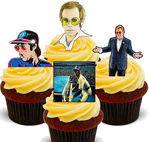 Made4You Elton John Rocketman - Decoración Comestible para ...