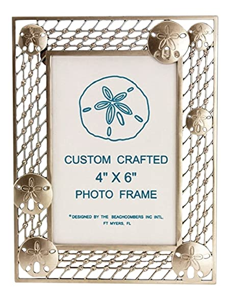 Amazon.com - Sand Dollar Zinc Alloy Photo Frame with Crystal Accent ...