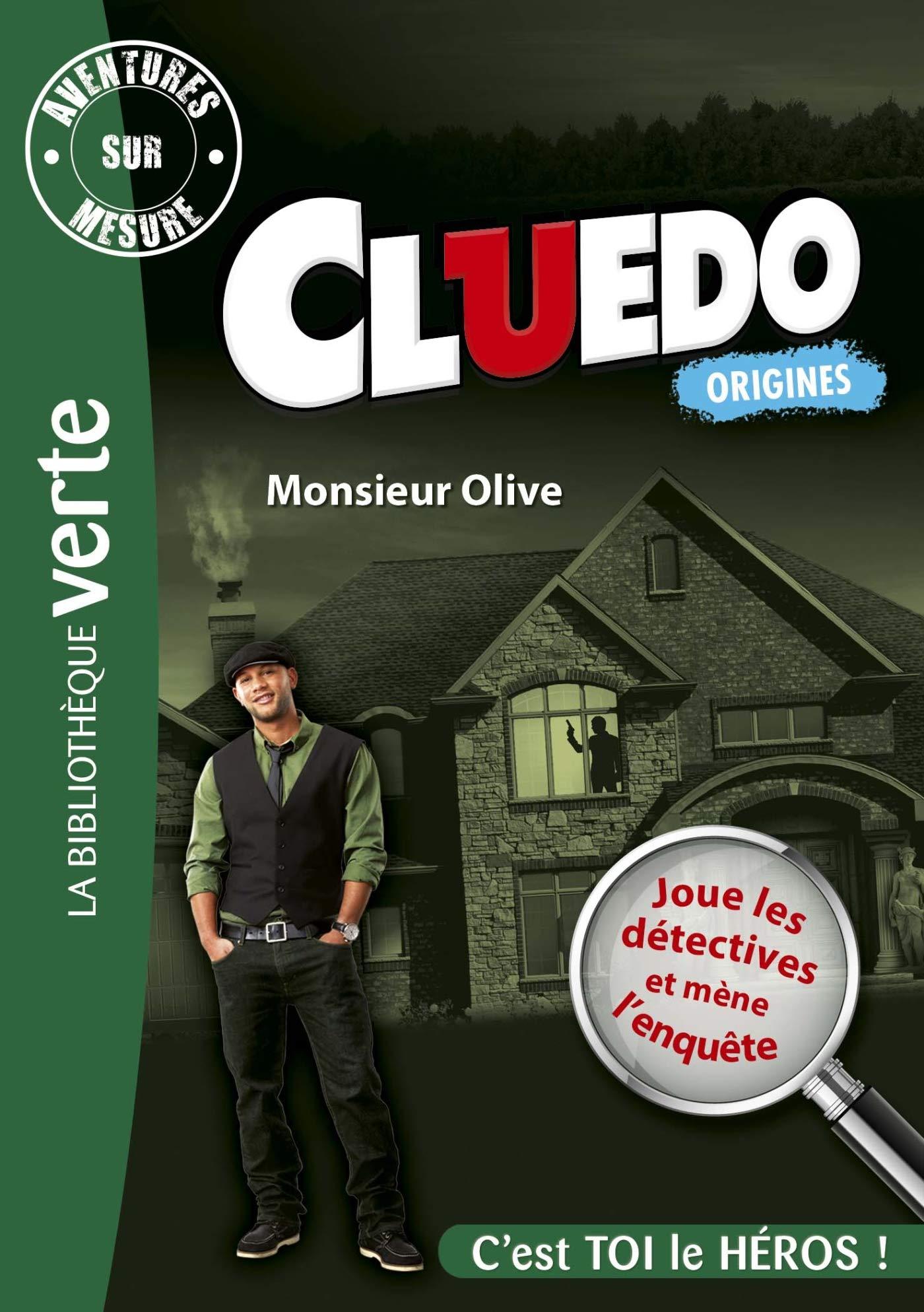 Aventures sur Mesure Cluedo 03 - Monsieur Olive Bibliothèque Verte Plus: Amazon.es: Hasbro: Libros en idiomas extranjeros