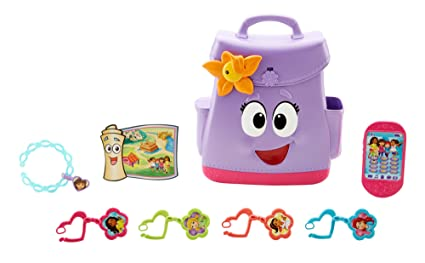 Fisher-Price Nickelodeon Dora & Friends, Backpack Adventure: Amazon on
