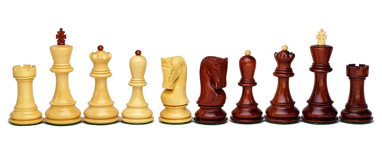ROOGU The Russian Empire - Schachfiguren Set Afrikanisches Korallenholz 10cm KH 10cm Korallenholz inkl. Aufbewahrungsbox 8fc6ca