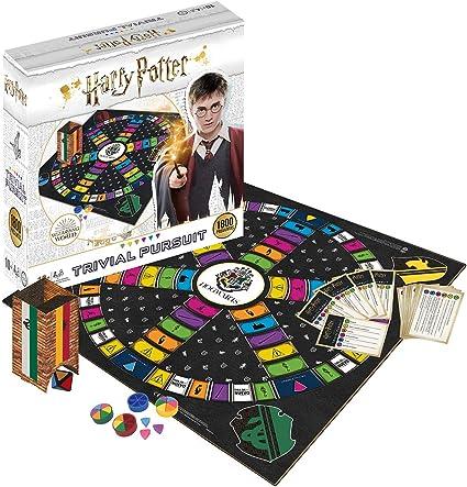Trivial pursuit Harry Potter 1800 Preguntas - Juego de Mesa - Versión en español: Amazon.es: Juguetes y juegos