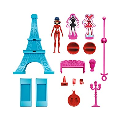 Miraculous Eiffel Tower Playset: Toys & Games