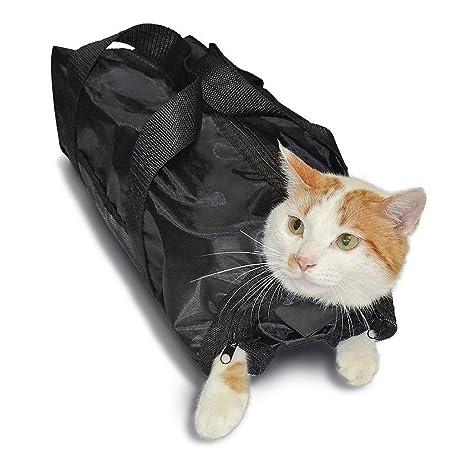 Fogun - Bolsa de Aseo para Gatos y Gatos, Bolsa para el Baño