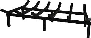SteelFreak Super Heavy Duty Steel Fireplace Grate - Made in The USA (27 Inch)