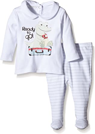 United Colors of Benetton 3PQ8MP010 Pijama, Blanco (White ...