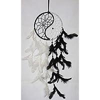 Odishabazaar Yin Yang Dream Catcher Wall Hanging - Attract Positive Dreams