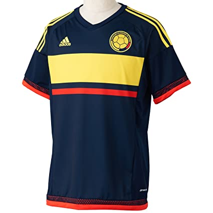 57a41cae3b8 Image Unavailable. Image not available for. Color  adidas 2015-2016 Colombia  Away Football Soccer T-Shirt Jersey