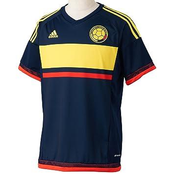 Adidas Selección de Colombia A JSY Camiseta, Hombre, Azul (Maruni/Amabri /