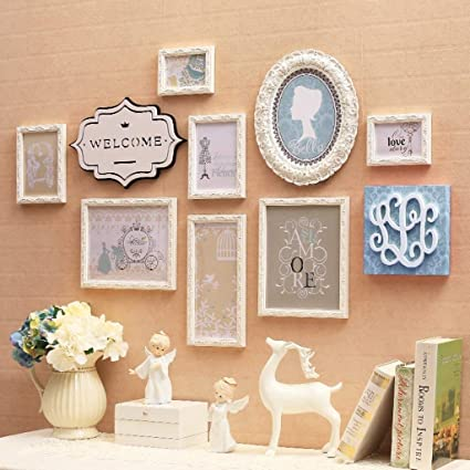 Amazon.com - Multi Picture Photo Frames Wall Set, Photo ...