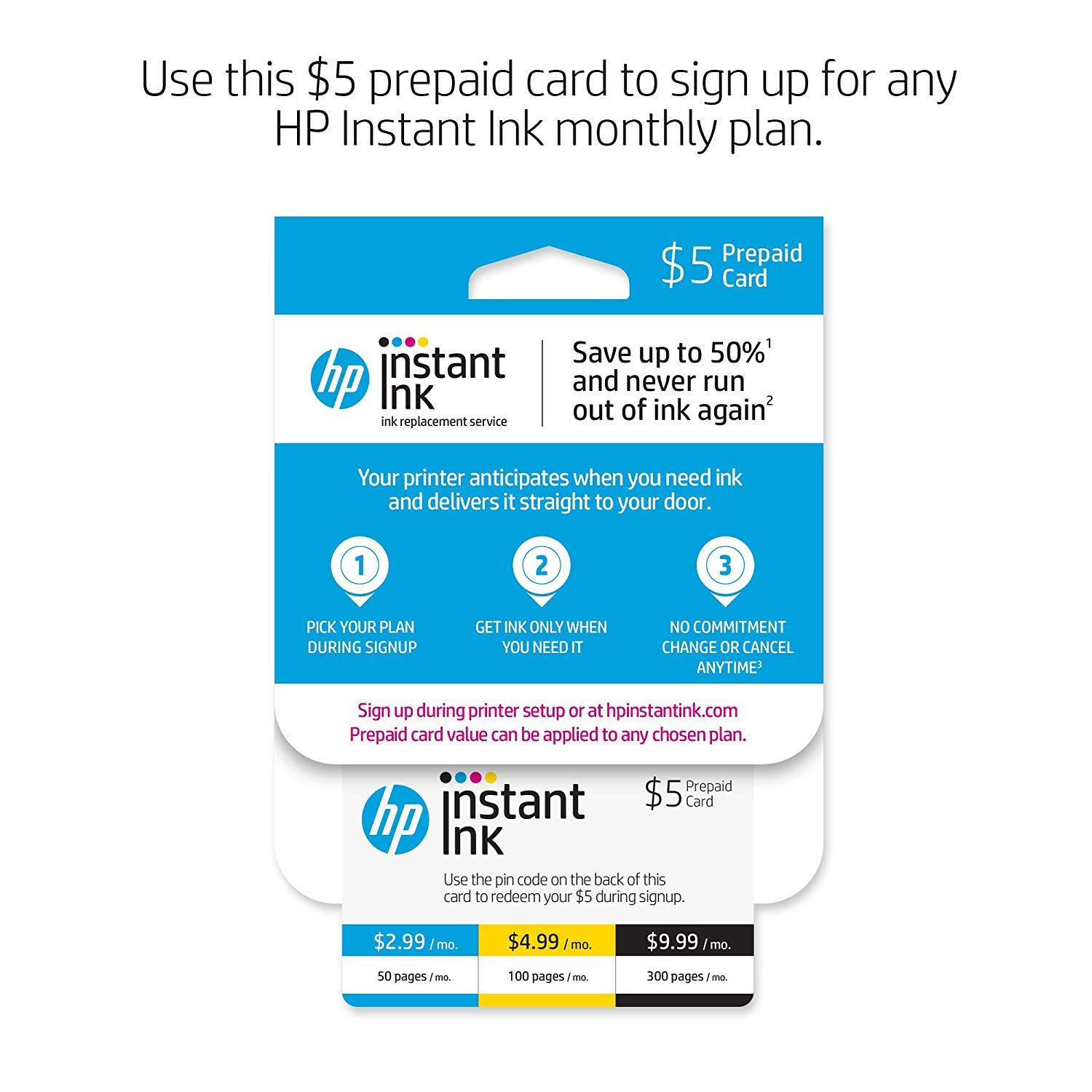 HP OfficeJet 3830 All-in-One Wireless Printer with Mobile Printing (K7V40A) and Instant Ink Prepaid Card for 50 100 300 Page per Month Plans (3HZ65AN) by HP (Image #3)