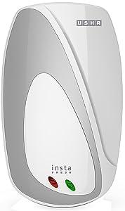 Usha Instafresh 3-Litre 3000-Watt Instant Water Heater (White and Silver)