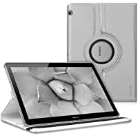 """kwmobile 41887.01 Funda para Tableta 25.4 cm (10"""") Voltear Negro - Fundas para Tablets (Voltear, Huawei, MediaPad T3 10, 25.4 cm (10""""), Negro)"""
