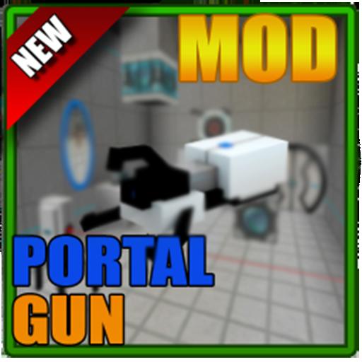Mod Portal Gun for MCPE