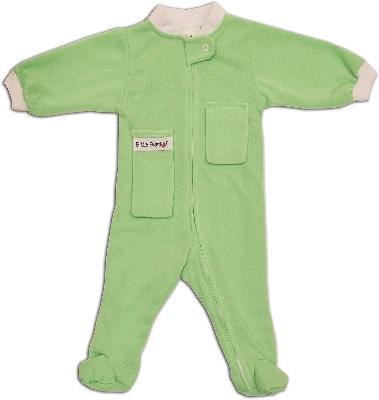 Lovey Bitta Kidda Baby Soother Baby Creeper Zipper Sleeper Baby Pajamas with Footies