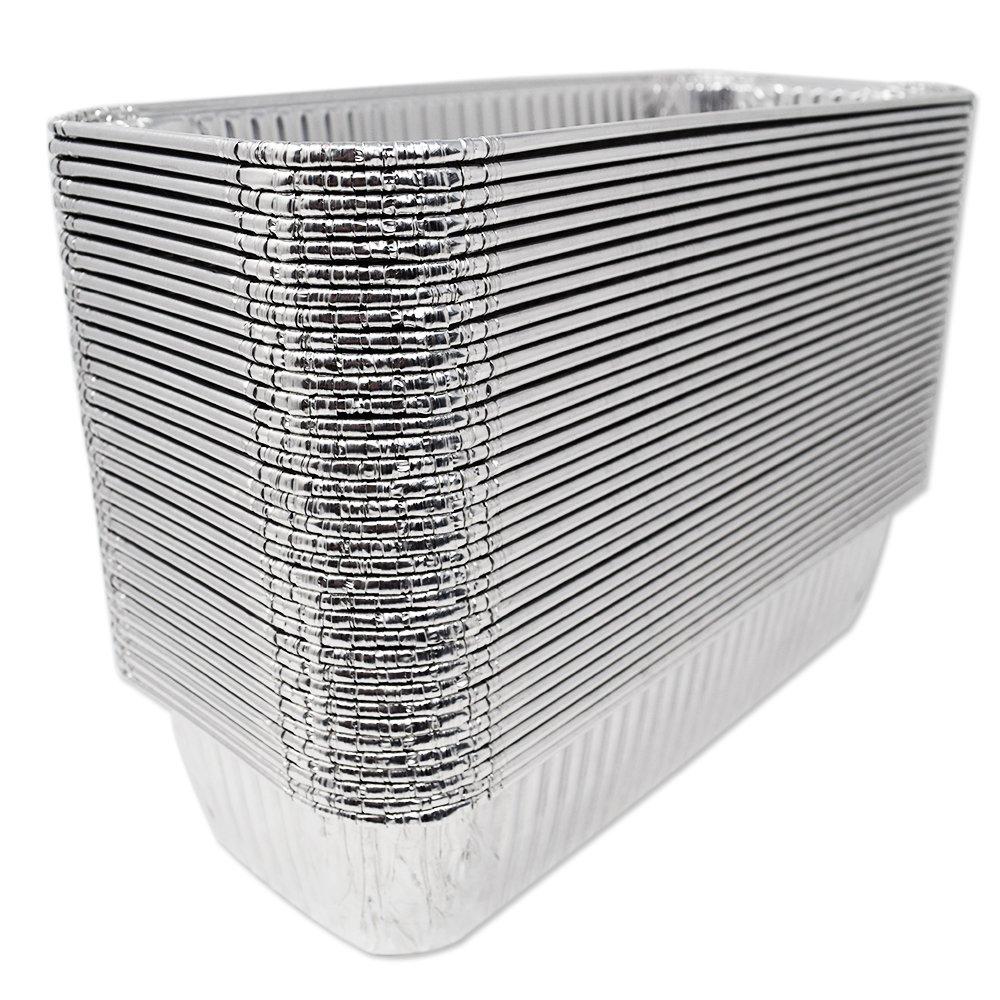 Fig & Leaf (420 Pack) Weber Grills Compatible 6417 Drip Pans l Size 11'' x 5'' x 2.5'' l Aluminum Foil l 44 Gauge l Fit Genesis II LX 400 600 Series All-Purpose Summit 400 600 Gold Platinum Gas Grill by Fig & Leaf (Image #3)