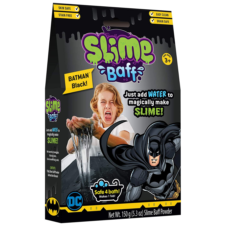NJ Croce Batman Black Slime Baff 1-Use Kids Bath Toy GB 3906