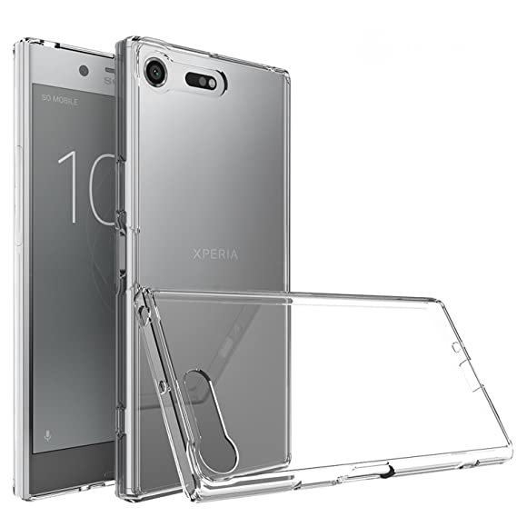 buy popular f66c1 dd266 Tektide Case for Sony Xperia XZ Premium, [Invisible Armor] Xtreme Slim,  Clear, Soft, Lightweight, Shock Absorbing TPU Rubber Bumper Case/Back Cover