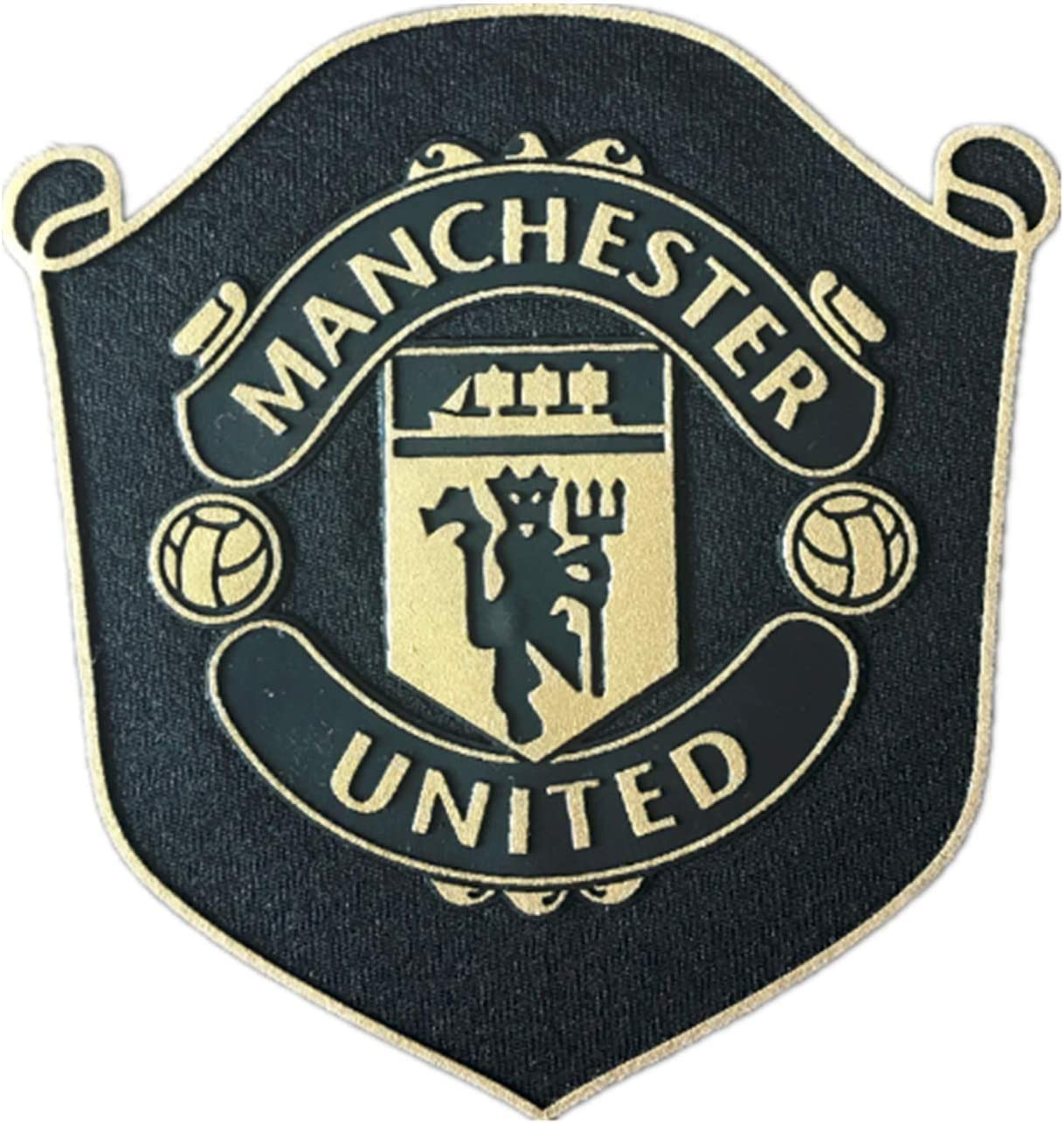 Best Badge 2019 2020 Manchester United Crest Red Devil Football Kit Shirt Iron On Badge Patch Amazon Co Uk Sports Outdoors