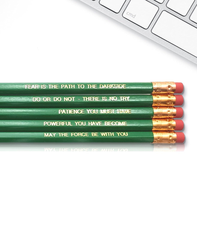 Amazon Yoda Star Wars The Jedi Inspirational Pencils
