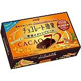 明治 チョコレート効果カカオ72%蜜漬けオレンジピール 47g×5箱 11977