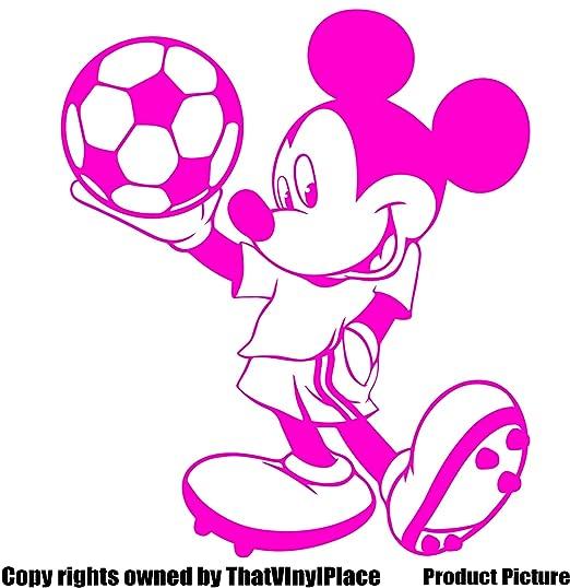 Mickey Mouse pegatinas 25 cm x 20 cm) elegir color 18 colores en stock Disney, pelota,