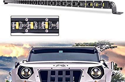 6D LED Work Light Bar Spot Flood Offroad Roof Lights Driving Lamp Truck Bar Car