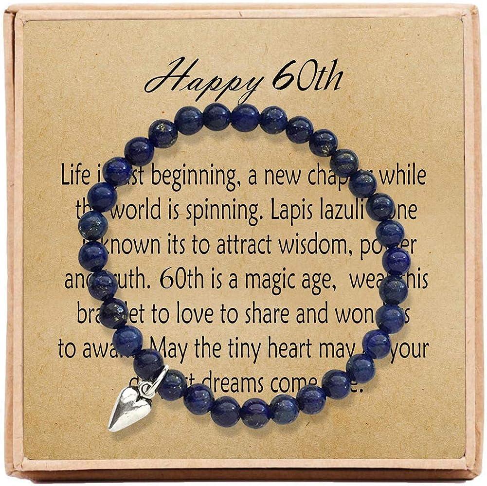 Amazon.com: OFGOT7 60º cumpleaños regalos para las mujeres ...