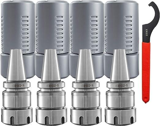 BT30-ER20-70 BT30 ER20 70L CNC Milling Collet Chuck Holder Milling Workholding