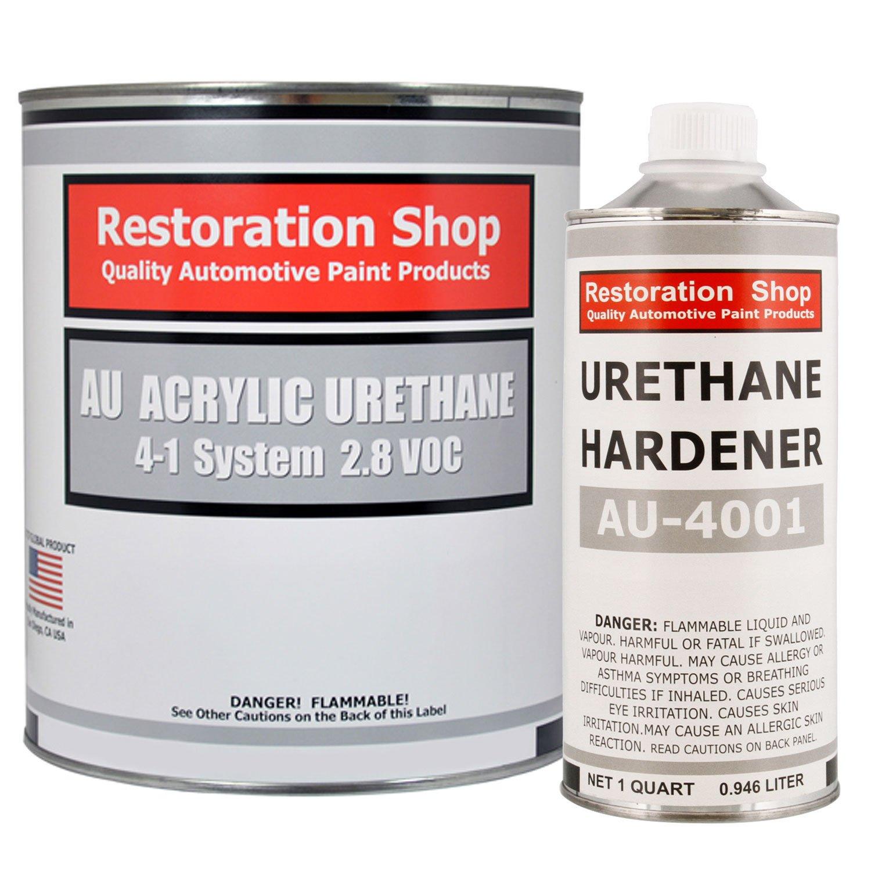 Restoration Shop - Complete Gallon Kit - Dark Midnight Blue Pearl Acrylic Urethane Single Stage Car Auto Paint by Restoration Shop (Image #1)