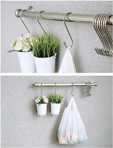 Gikbay Heavy-Duty Stainless Steel, Gardening Tools for Plants, Silver Hanging Hooks Installation Har…