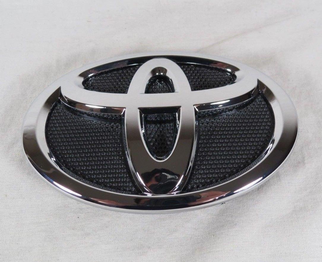 Toyota Corolla Front Emblem 09-13 Grille Bumper Badge Chrome Grill Sign Symbol Logo