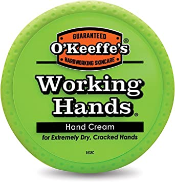 O'Keeffe's Working Hands Cream 3.4 oz containers new sealed