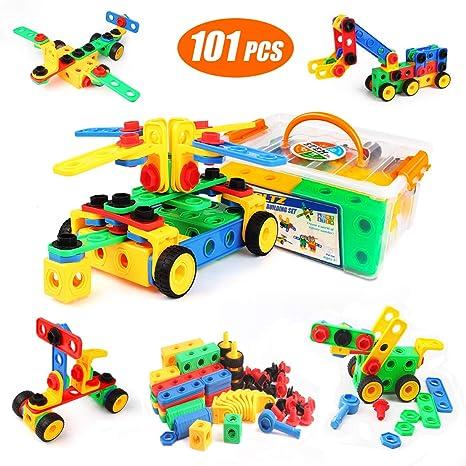 1f712a2eaf4ef Amazon.com  Kidcheer Building Blocks 101 Set - Building Toys ...