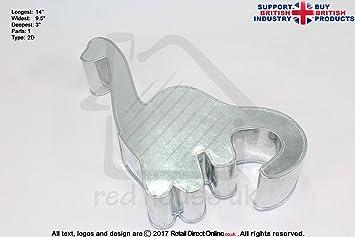 Novedad Forma Pastel Hornear latas y sartenes | dinosaurio cuello largo | hecho a mano | entrega gratuita | decoración de pasteles Craft: Amazon.es: Hogar