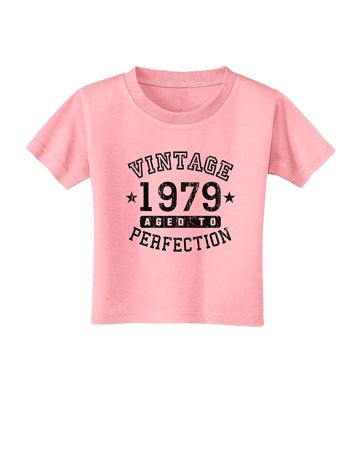 TooLoud 40th Birthday Vintage Birth Year 1979 Toddler T-Shirt