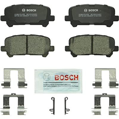 Bosch BC1281 QuietCast Premium Ceramic Disc Brake Pad Set For: Acura MDX, ZDX; Honda Odyssey, Pilot, Rear: Automotive
