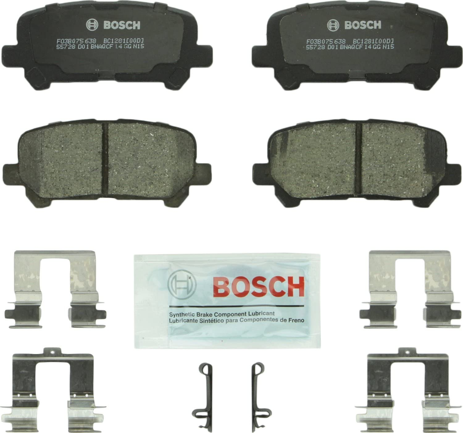 Front And Rear Ceramic Brake Pads For Pilot Acura MDX ZDX