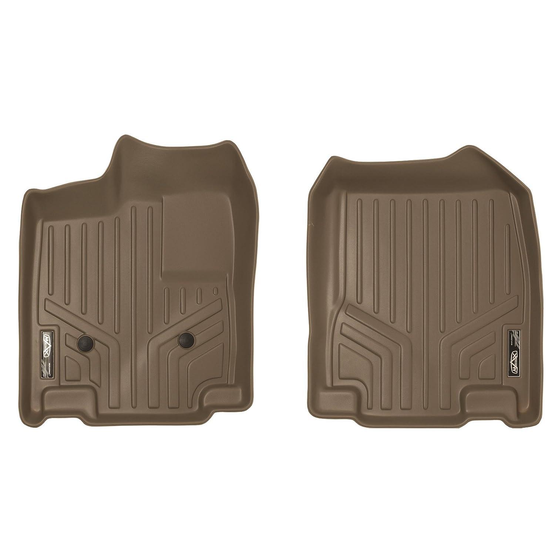 SMARTLINER Floor Mats 1st Row Liner Set Tan for 2011-2014 Ford Edge 2011-2015 Lincoln MKX MAXLINER A1118