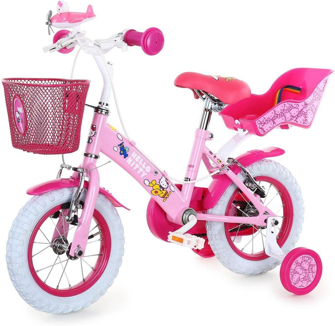 HELLO KITTY Bicicleta Airplane 12 Rosa: Amazon.es: Deportes y aire ...