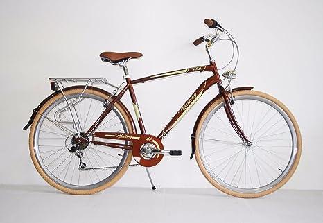 Bici Trekking 28 City Bike Uomo Telaio Alluminio Cambio Shimano 7v