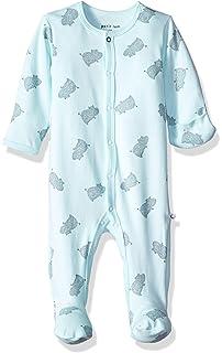 Petit Lem Unisex Baby Footed Sleeper